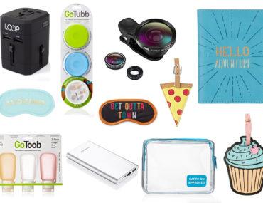 Smart Travel Gifts Under $20 That Look Good Too + GIVEAWAY! www.travelingpetitegirl.com