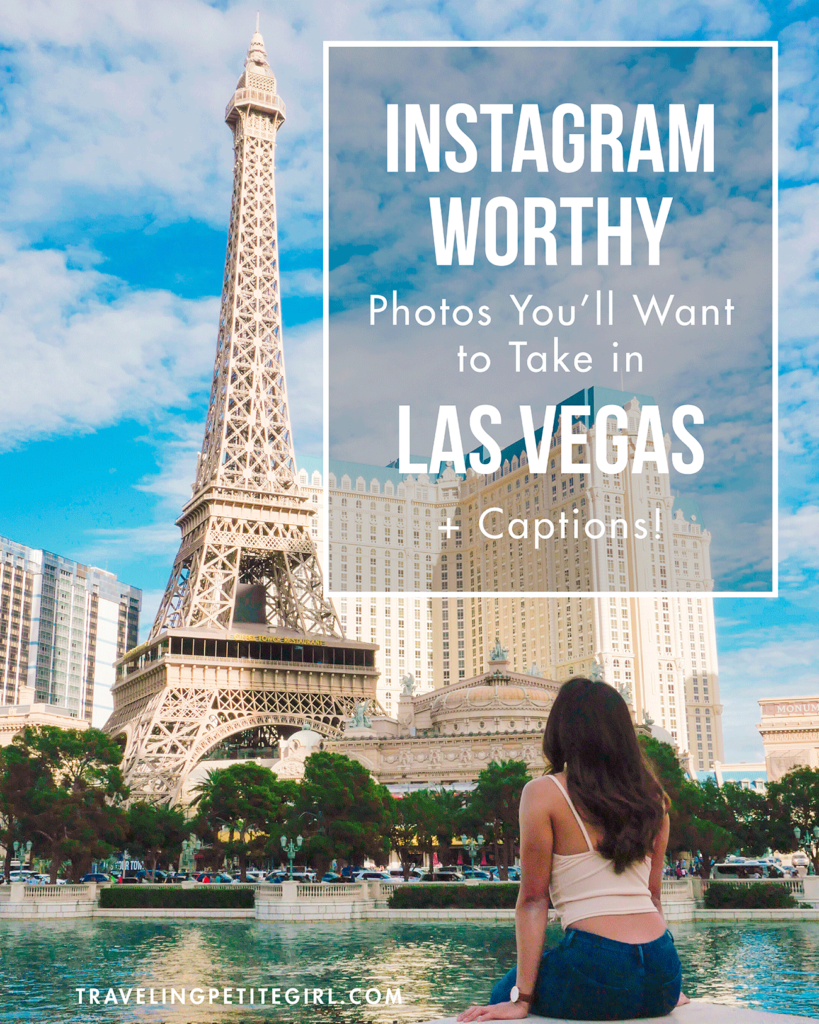 Instagram-Worthy Photos You'll Want to Take in Las Vegas + Captions | TravelingPetiteGirl.com | #lasvegas #instagram #travel #photography