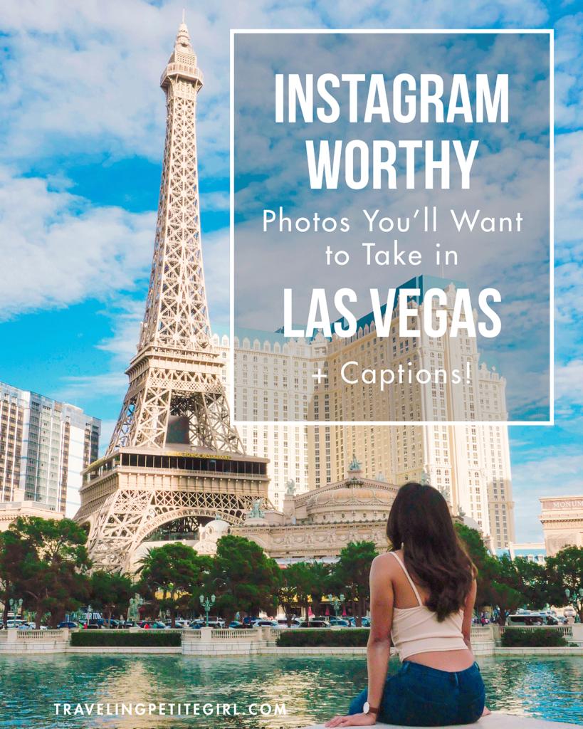 Instagram-Worthy Photos You'll Want to Take in Las Vegas + Captions | TravelingPetiteGirl.com | #lasvegas #instagram #travel #photography