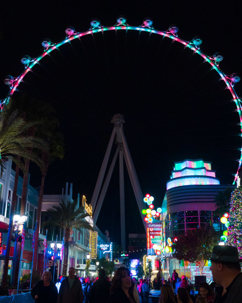 Linq Ferris Wheel   Instagram-Worthy Photos You'll Want to Take in Las Vegas w/ Captions   TravelingPetiteGirl.com   #lasvegas #instagram #travel #photography