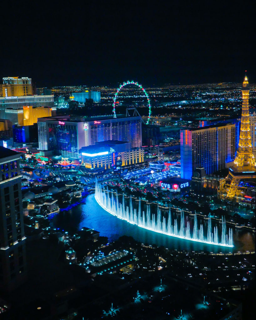 Bellagio Fountains   Instagram-Worthy Photos You'll Want to Take in Las Vegas w/ Captions   TravelingPetiteGirl.com   #lasvegas #instagram #travel #photography