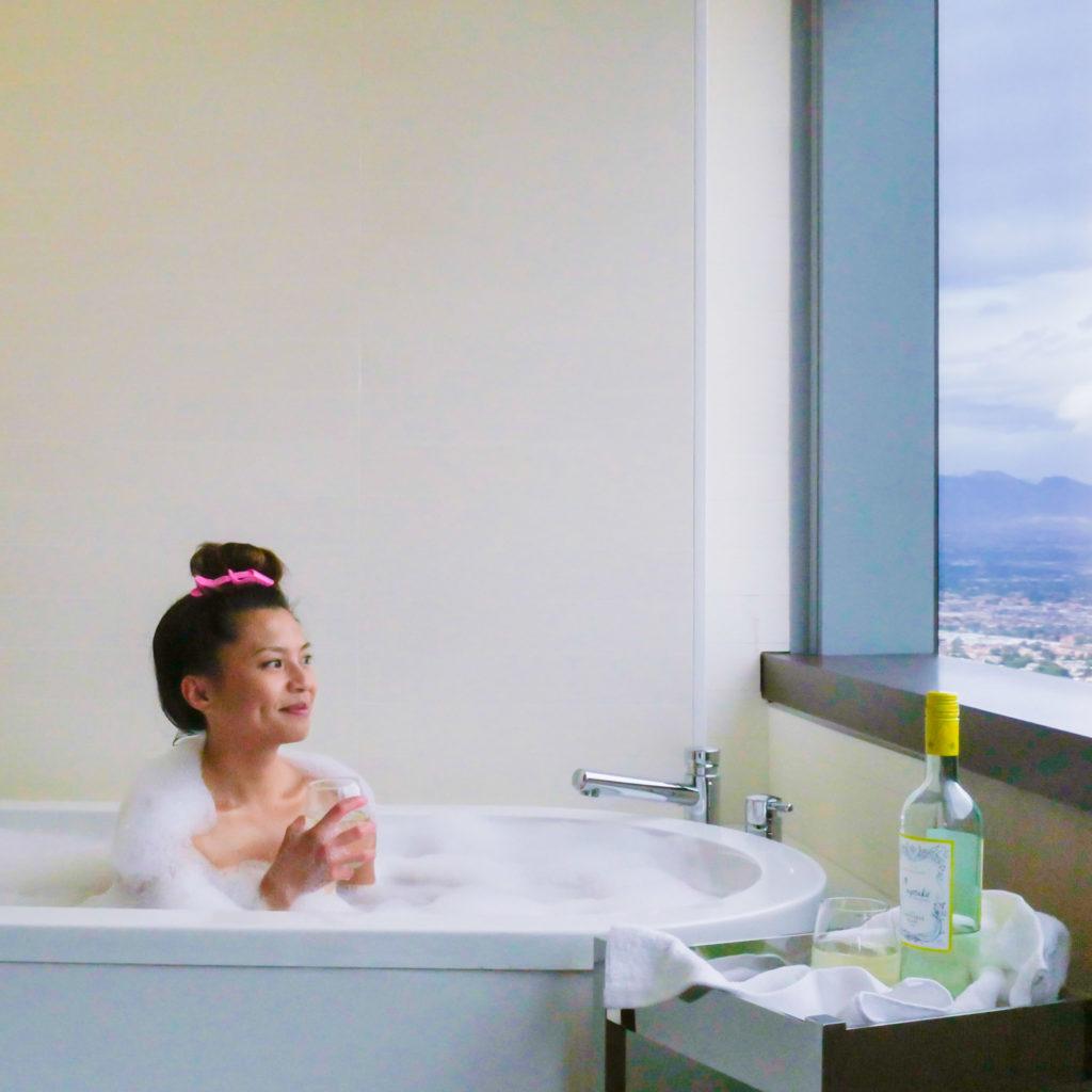 Vdara City Corner Suite | Instagram-Worthy Photos You'll Want to Take in Las Vegas w/ Captions | TravelingPetiteGirl.com | #lasvegas #instagram #travel #photography