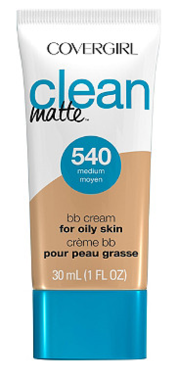 CoverGirl Clean Matte BB Cream | Quick & Easy Makeup For Travel In 10 Minutes | TravelingPetiteGirl.com | #makeup #travel #easy #quick